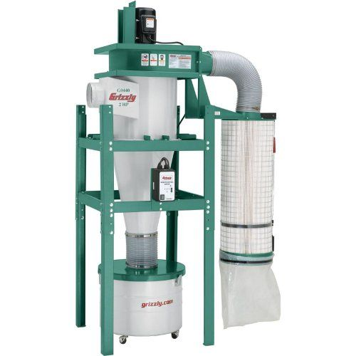 Grizzly G0440 Cyclonic Dust Collector Review Diy Tips