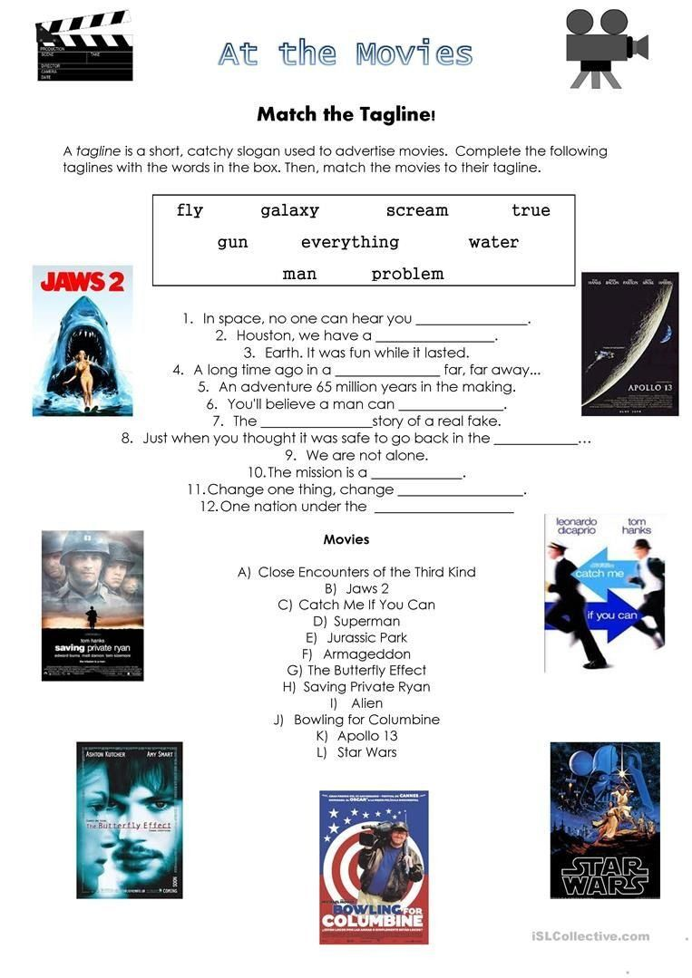 Apollo 13 Movie Worksheet Answers Movies Worksheet Con Imagenes
