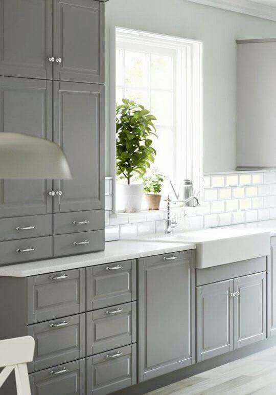Like this, especially apron sink! | Kitchen Remodel 2017 | Pinterest