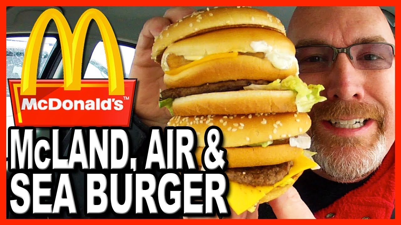 McDonald's ★ Secret Menu Item ★ The McLand, Air and Sea