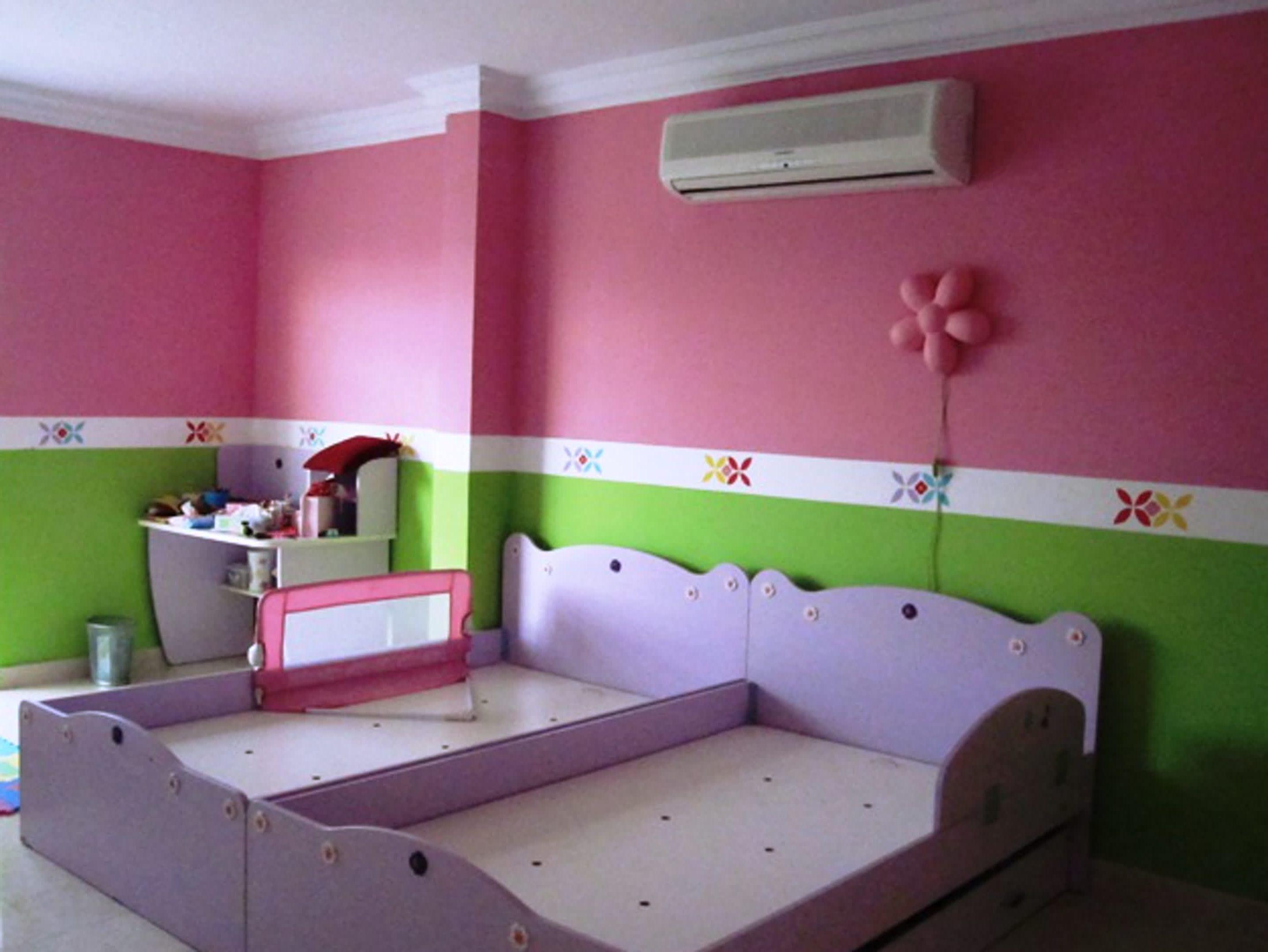 Malen Ideen Für Mädchen Schlafzimmer Lila Farbe Bedeckt