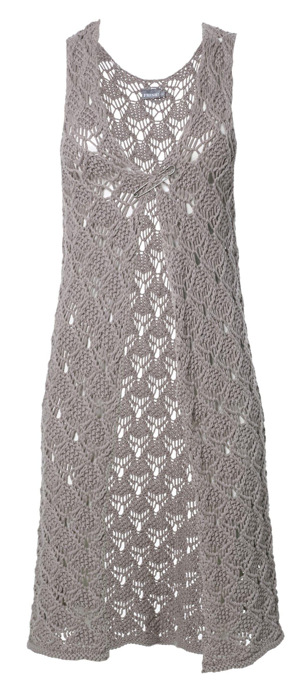 Angie Gehaakt Mouwloos Vest In Bohemian Style Draag Je Heel