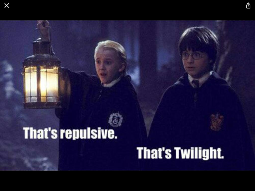 20 Harry Potter Memes Twilight Harry Potter Vs Twilight Harry Potter Memes Harry Potter
