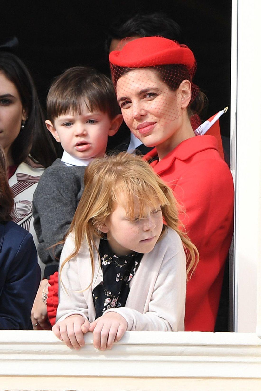 Monaco National Day 2016 Balcon Princess Monarchy