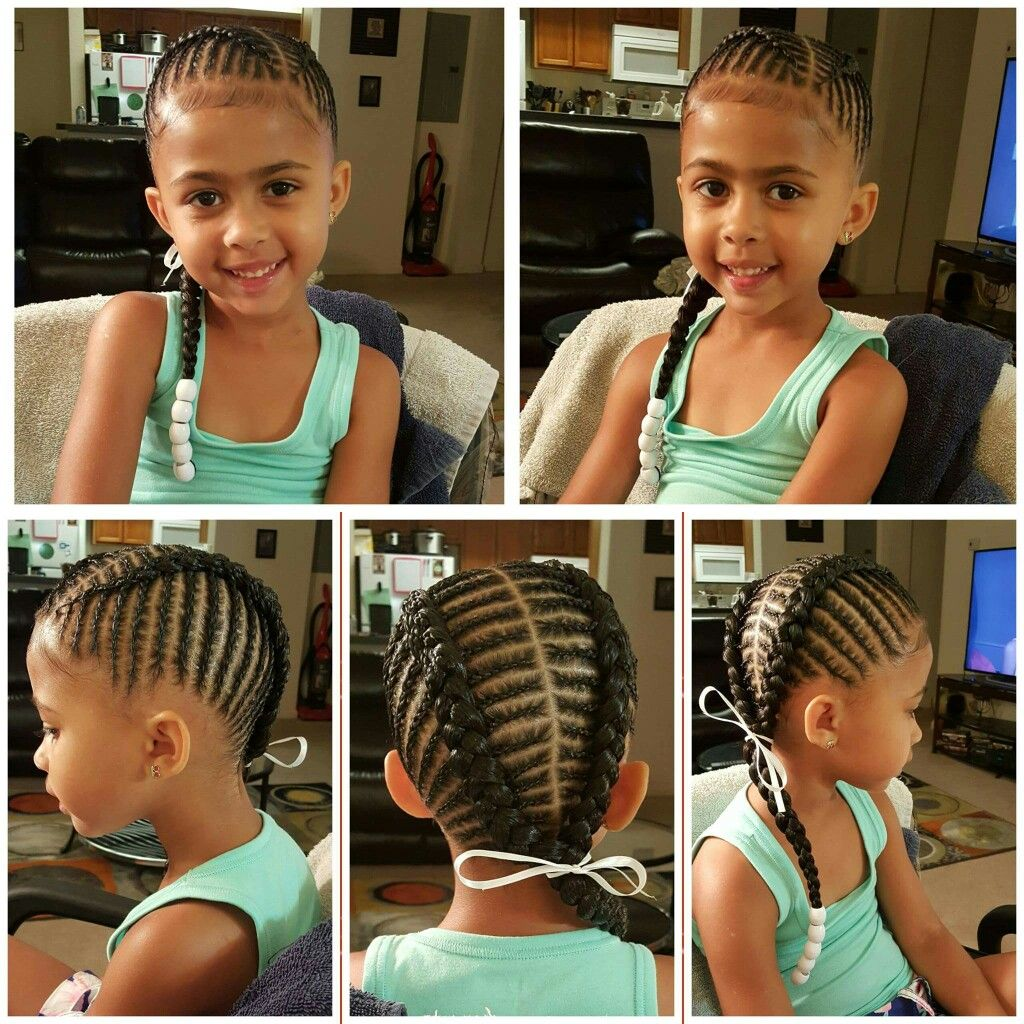 Pinterest Kekedanae20 Kids Braided Hairstyles Braids For Kids