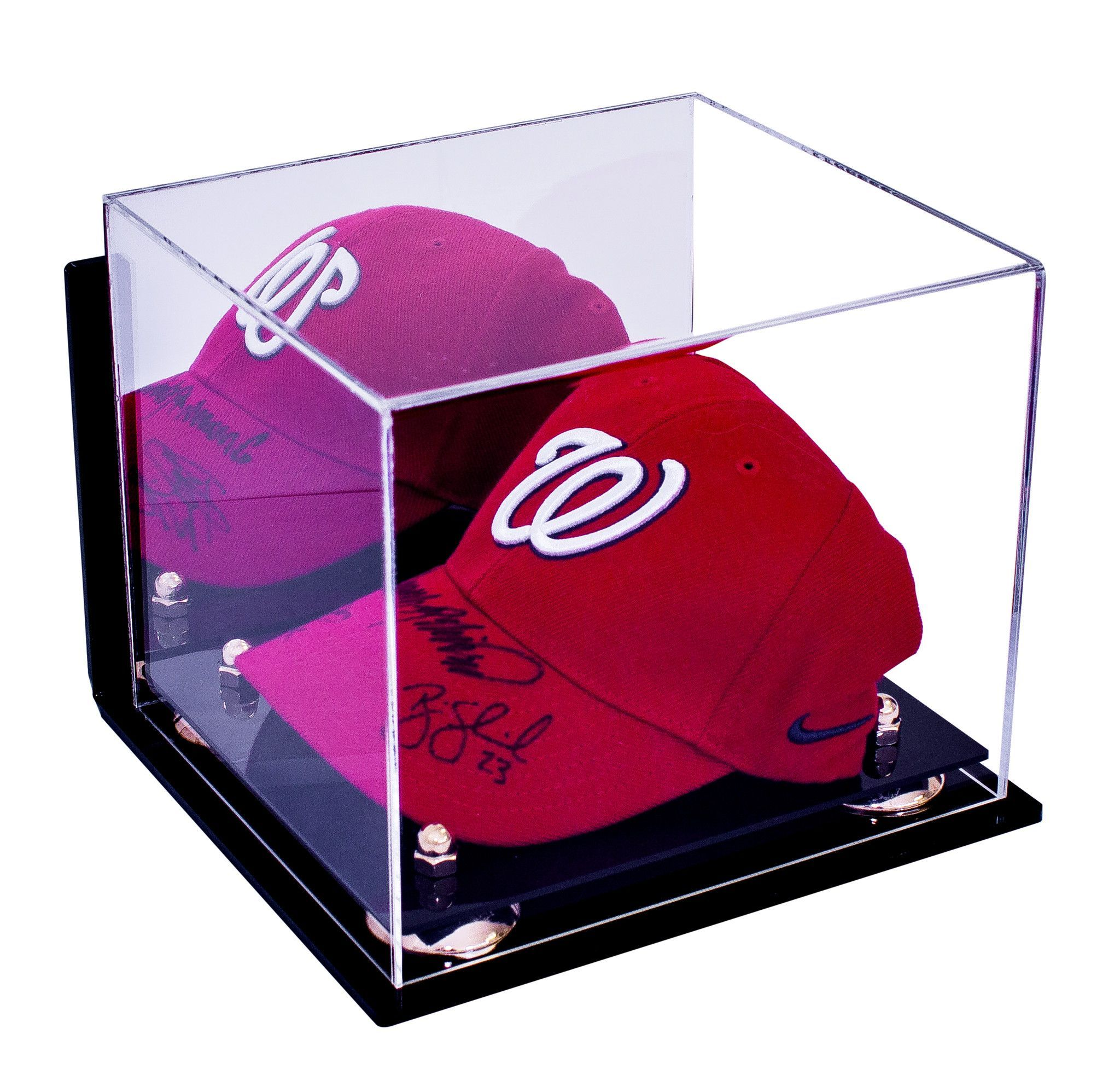 9899d5594ba Baseball Cap Display Case With Mirror and Wall Mount For MLB