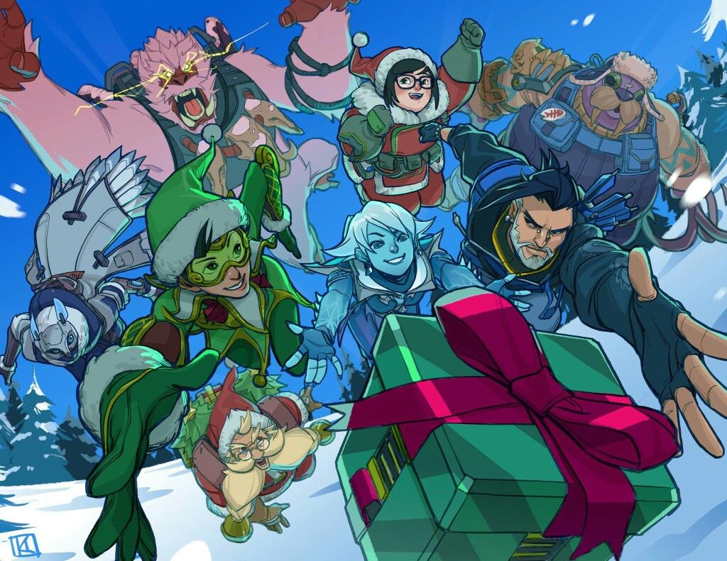 Overwatch christmas edition overwatch in 2019 - Overwatch christmas wallpaper ...