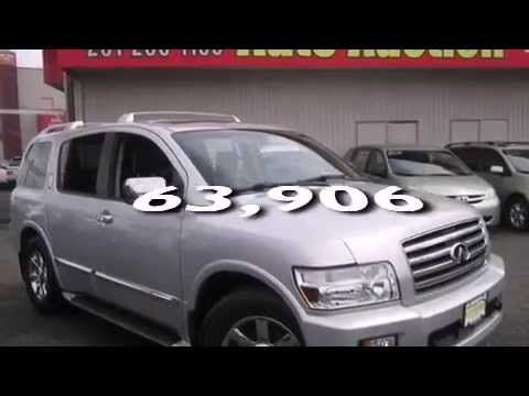 Just Listed: 2004 #Infiniti #QX56 - #NJ State #Auto #Auction #NewJersey #NewYork #NY #NYC