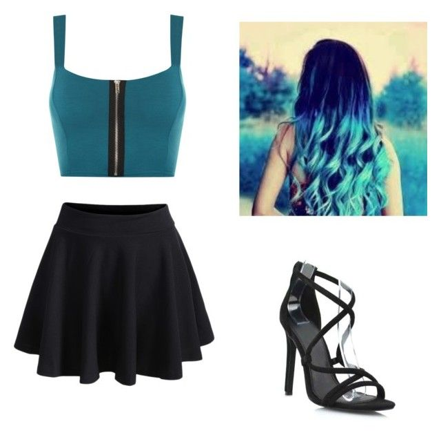 """""""Mermaid"""" by eviegrace2002 ❤ liked on Polyvore featuring WearAll, WithChic and mermaid"""
