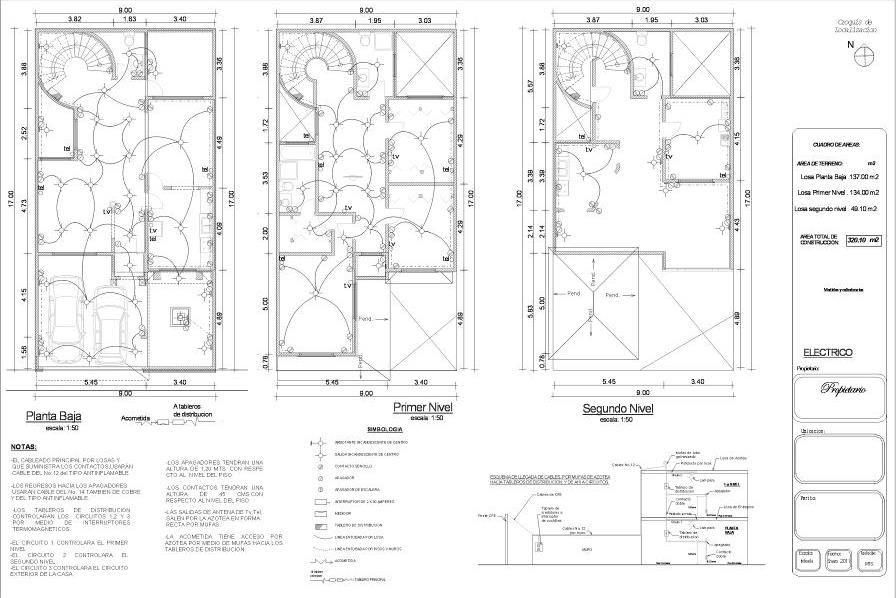 Resultado de imagen para plano instalaci n el ctrica for Plano instalacion electrica