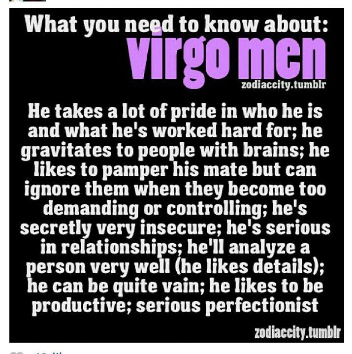 Ignoring virgo man