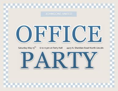 office party invitation templates discounted office management