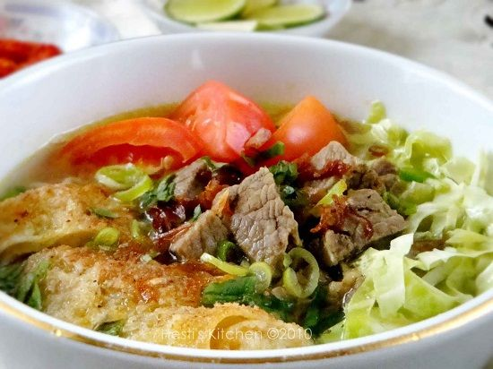 4 Resep Recipe Dan Cara Memasak Soto Daging Sapi Bening Tanpa Santan Yang Enak Dan Spesial Selerasa Com Resep Daging Sapi Makanan Resep