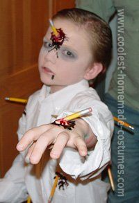 Billedresultat for scary halloween costumes kids diy
