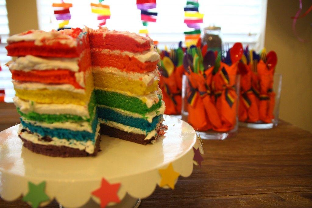 Nurseries And Parties We Love This Week Project Nursery Rainbows