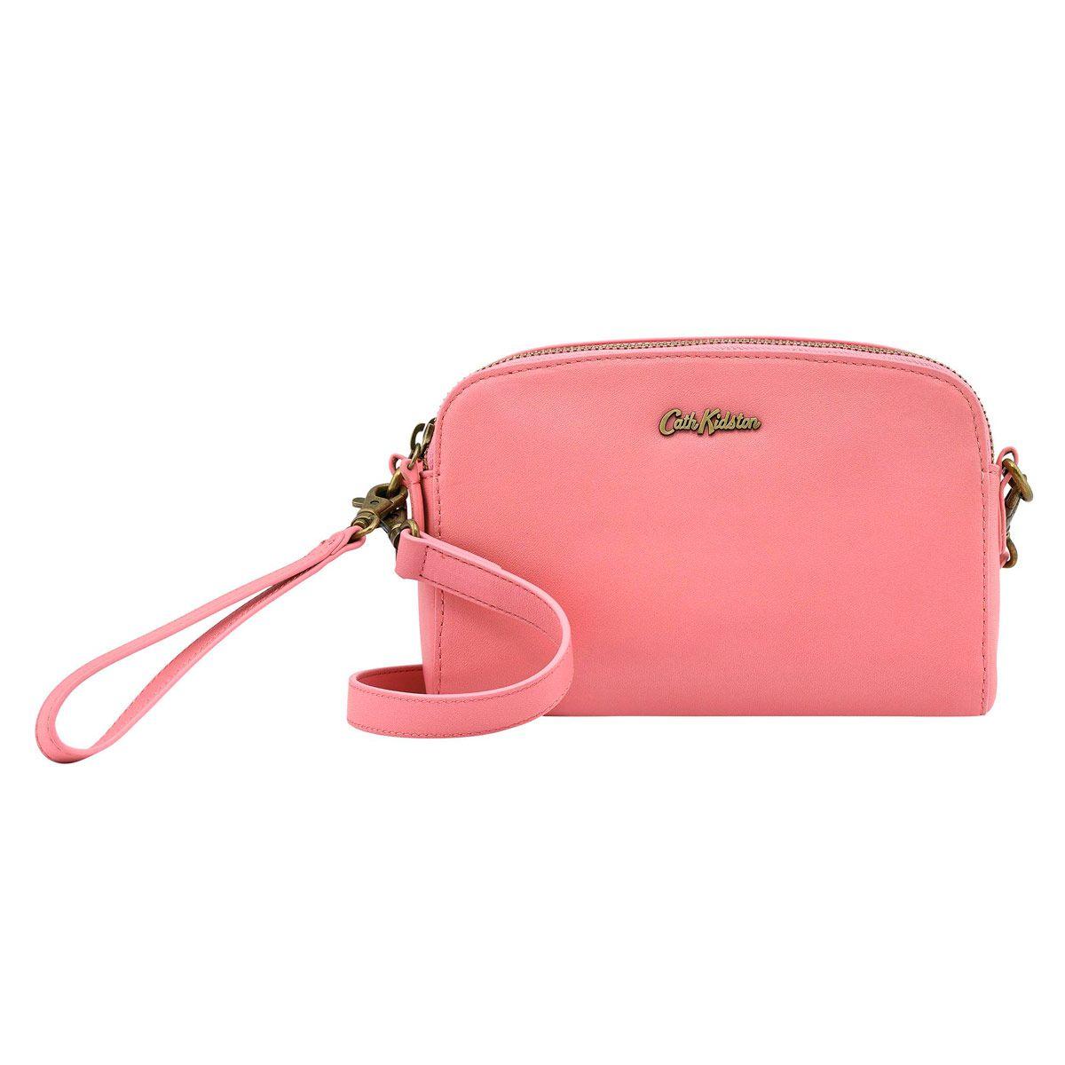 Mini Leather Double Zip Bag Bags Cathkidston