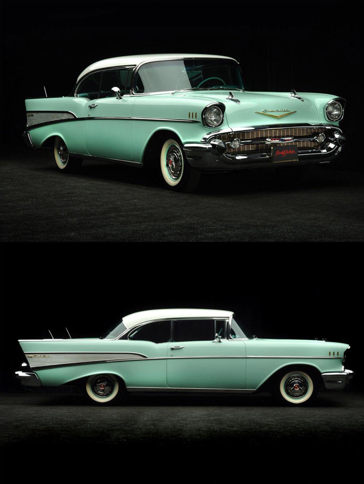 1957 Spring Mint Green Bel Air Car 1957 Chevrolet Chevrolet Bel Air Chevrolet