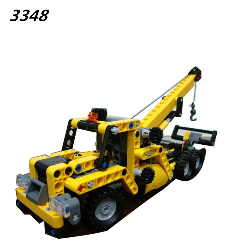 check price aiboully 3348 3349 high ttechnic mini mobile crane tow ...