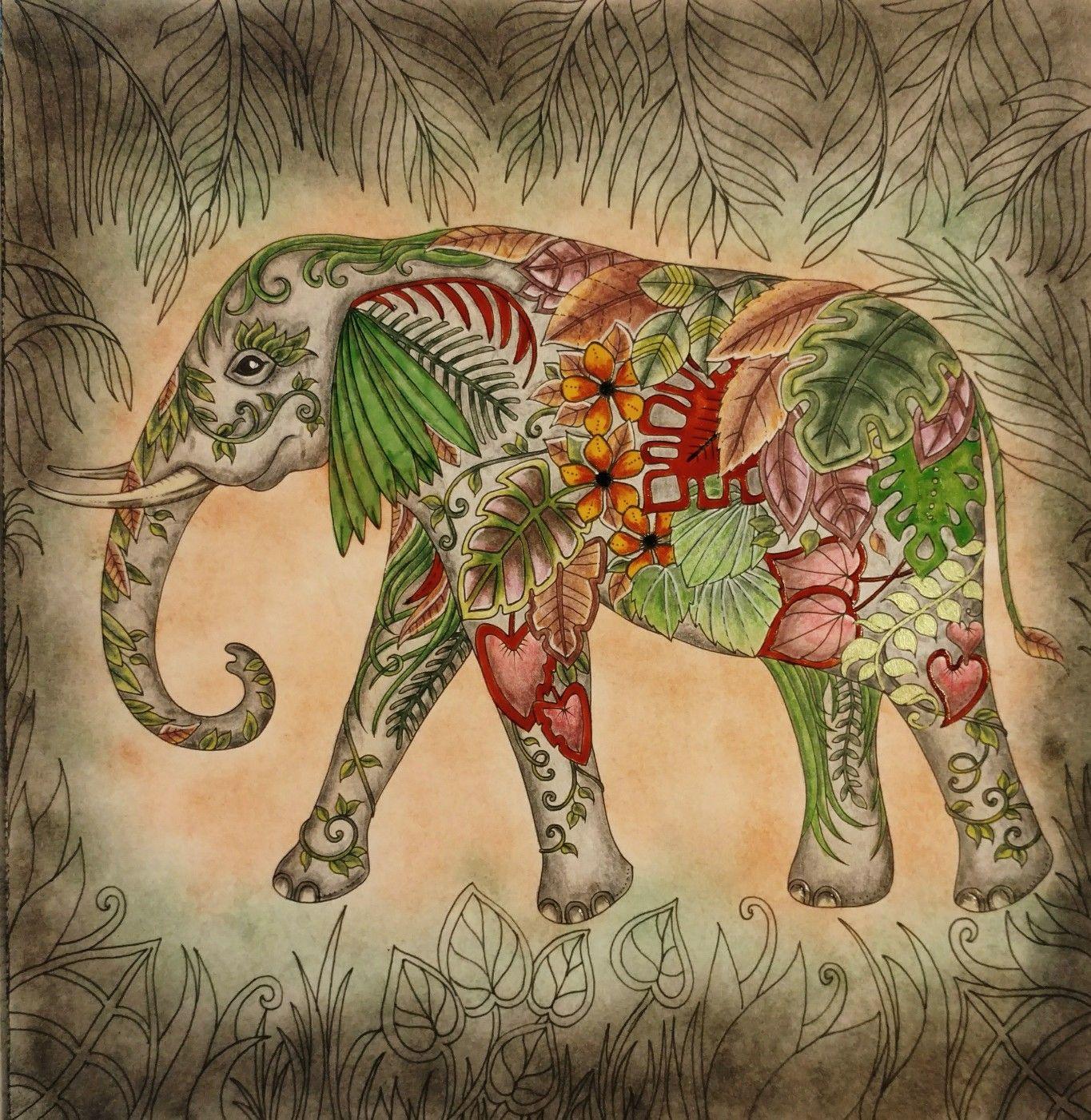 Magical Jungle Coloring Book Johanna Basford By Wendy Basford Coloring Book Johanna Basford Coloring Basford Coloring