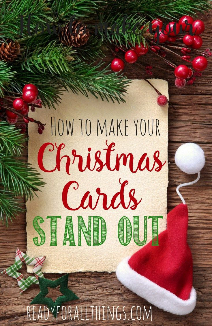 How to make your family Christmas cards Stand Out | Family christmas ...