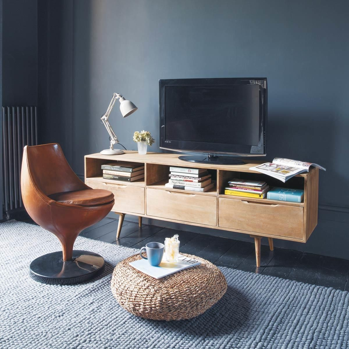 Tv M Bel Im Vintage Stil Trocadero Architecture Home Interior  # Meuble Maison Decoration Tv