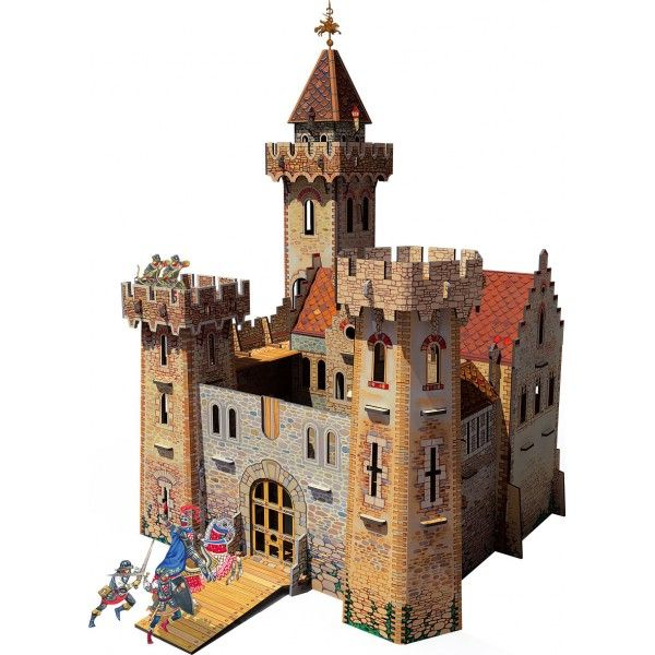 maqueta de carton de castillo de los caballeros medievales kids pinterest. Black Bedroom Furniture Sets. Home Design Ideas
