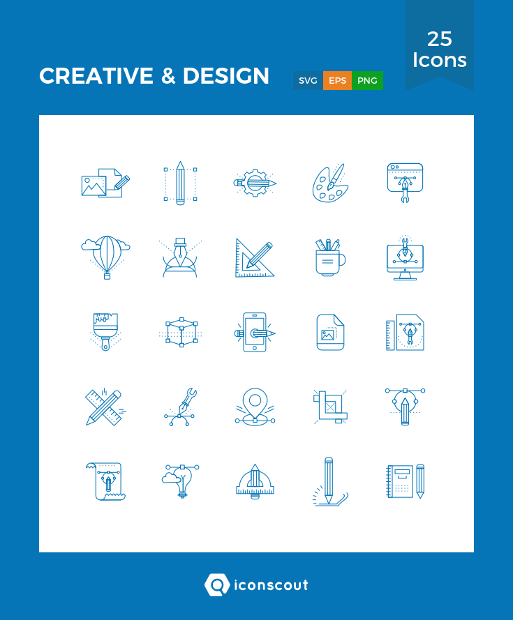 Download Download CREATIVE & DESIGN Icon pack - Available in SVG ...