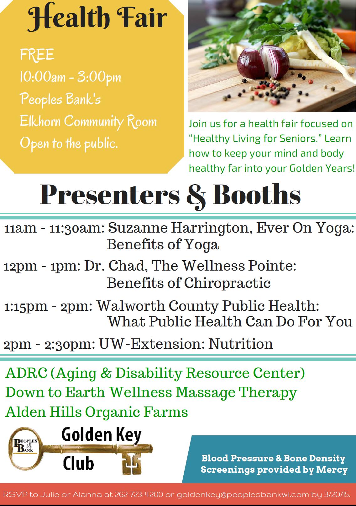 Wellness Day 2016 |Wellness Day Event Flyers