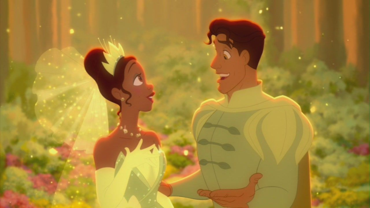 Tiana Prince Naveen In The Princess And The Frog Disney