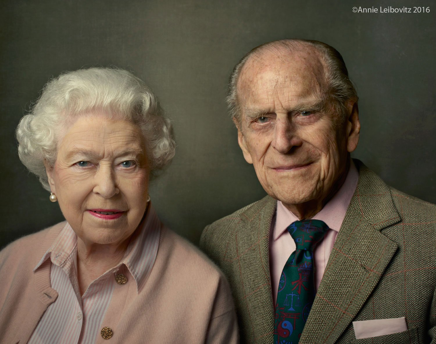 """""""He has, quite simply, been my strength & stay all these years""""  A photo for #Queenat90 & The Duke's 95th birthday. 06/09/16"""