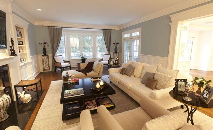 Mirabellanewyork living family room design dream home for Living room addition ideas