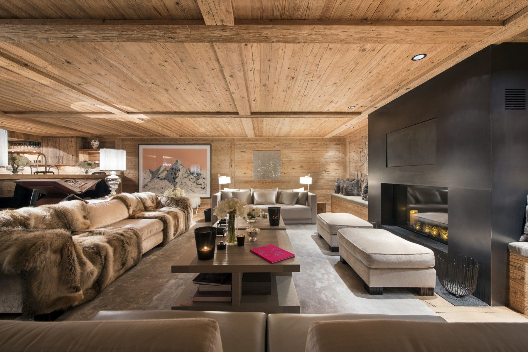 Amala top luxus chalet in gstaad hotel pinterest chalets tops und lodges - Deco kamer chalet berg ...