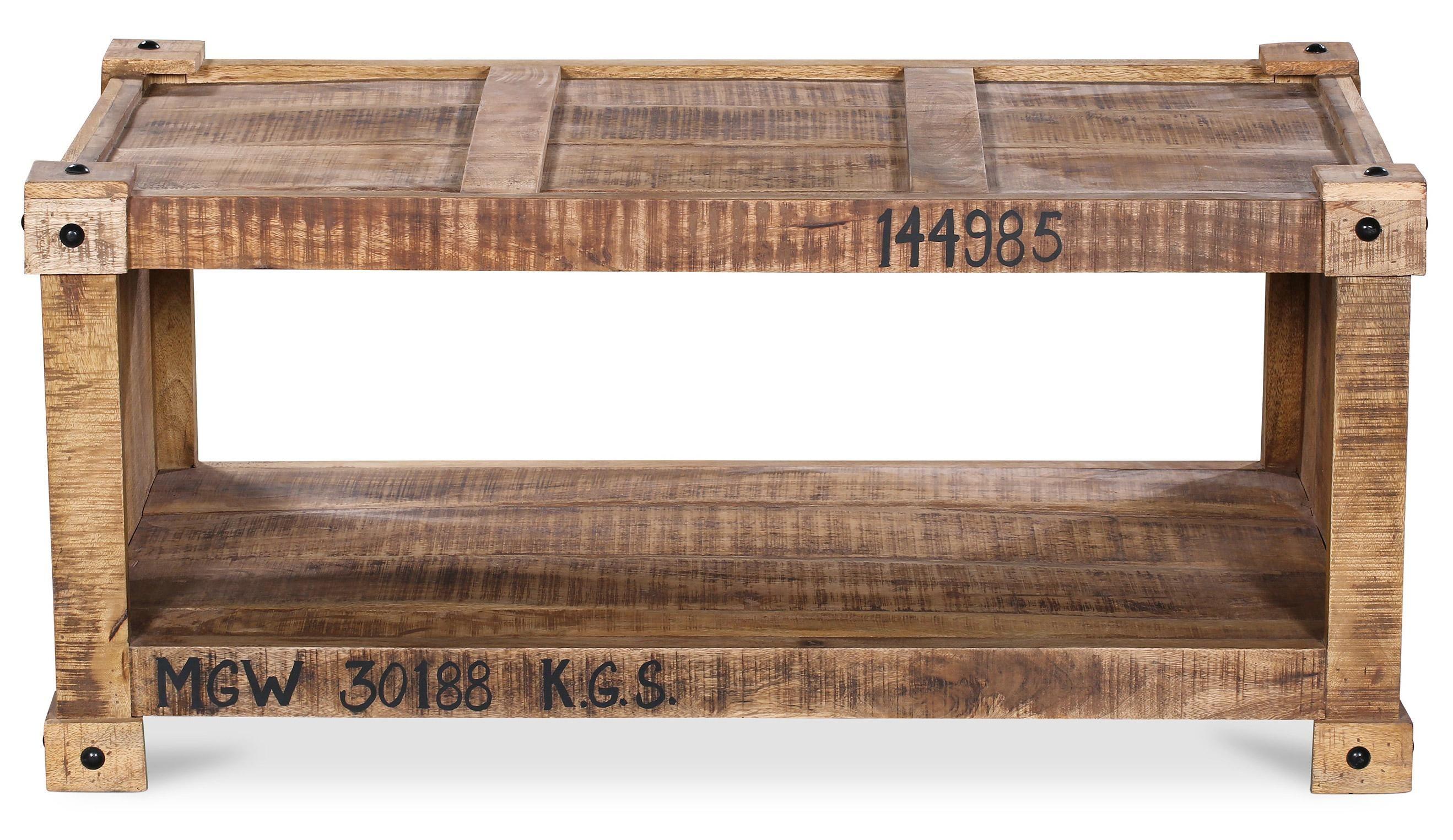 Porta Table Basse Rectangulaire En Bois De Manguier H50 X L110 X P60 Cm Lestendances 288 85 Table Basse Rectangulaire Table Basse Table Basse Bois