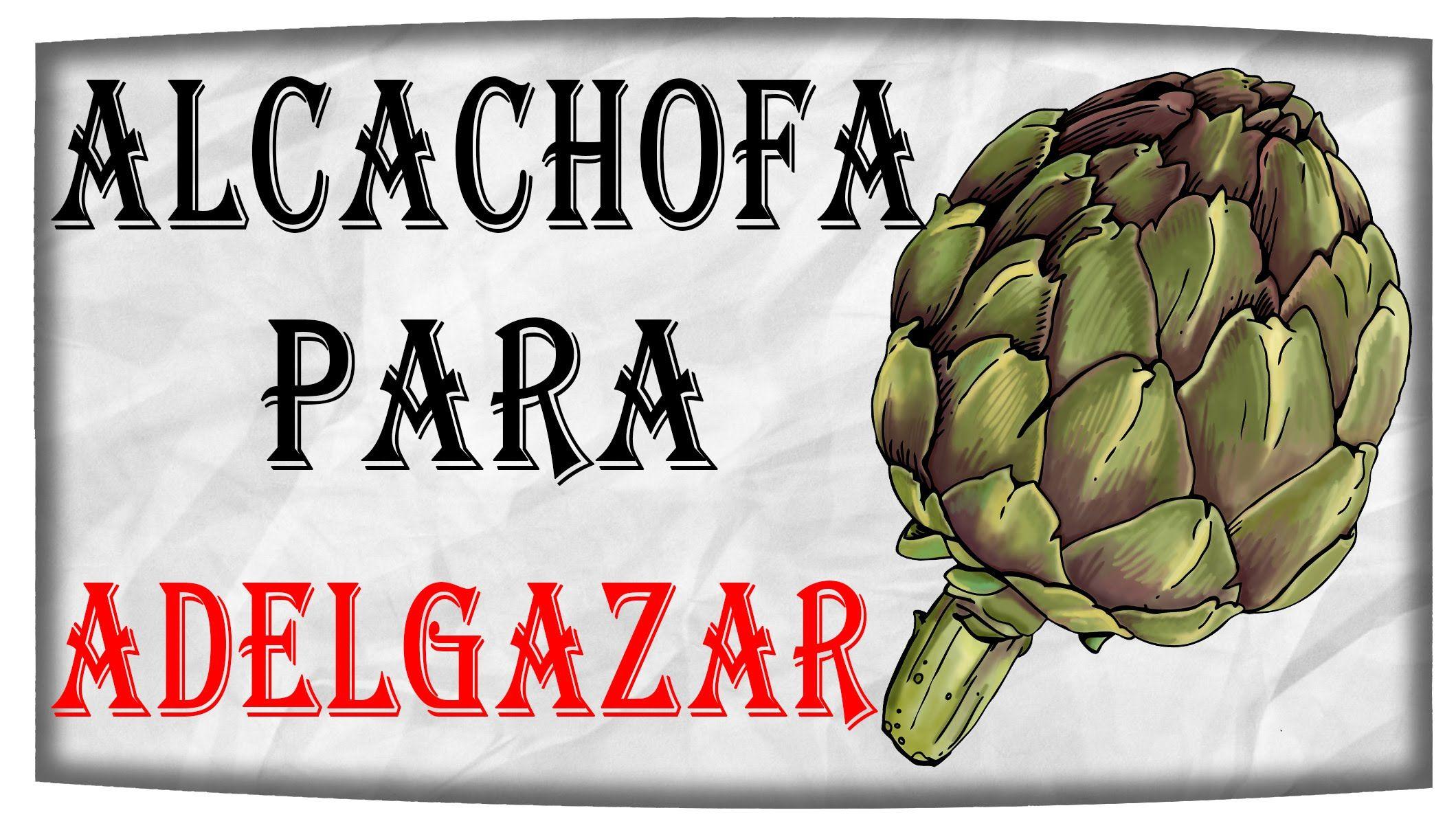 Alcachofa recetas para bajar de peso