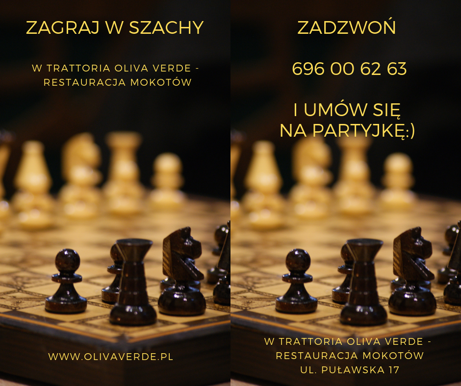 Trattoria Oliva Verde I Szachy Menu Chess Board Premium Wordpress Themes