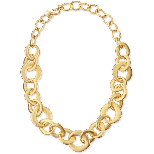 Kenneth Jay Lane Gold Link Chain Necklace Gold gZ5jPKUbz