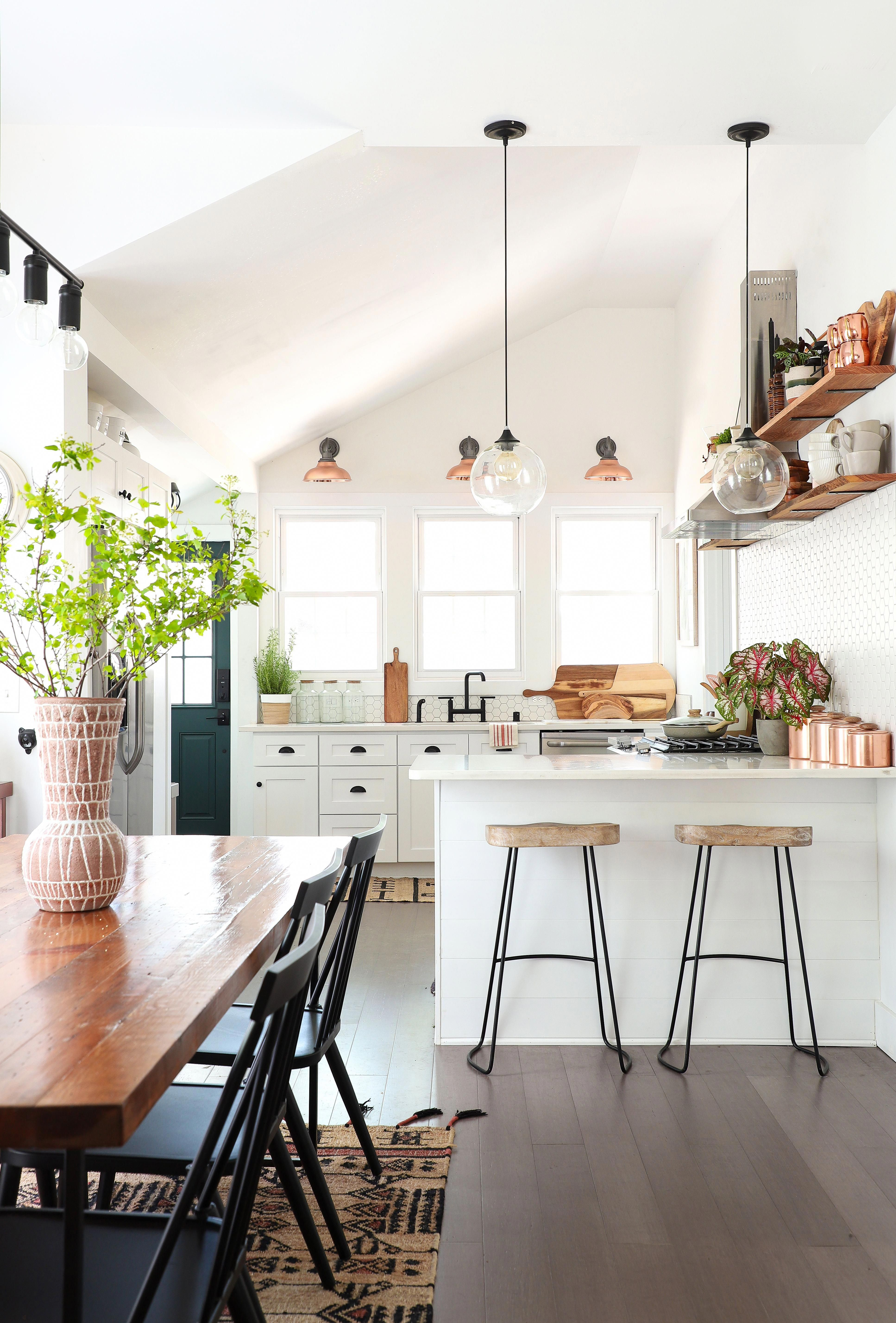 How This Diy Blogger Transformed Her Dilapidated Fixer