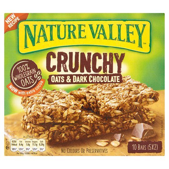 Nature Valley Crunchy Granola Oats Chocolate Bars 5x42g Nature Valley Crunchy Granola Bars Nature Valley Granola Natural Valley Granola Bars