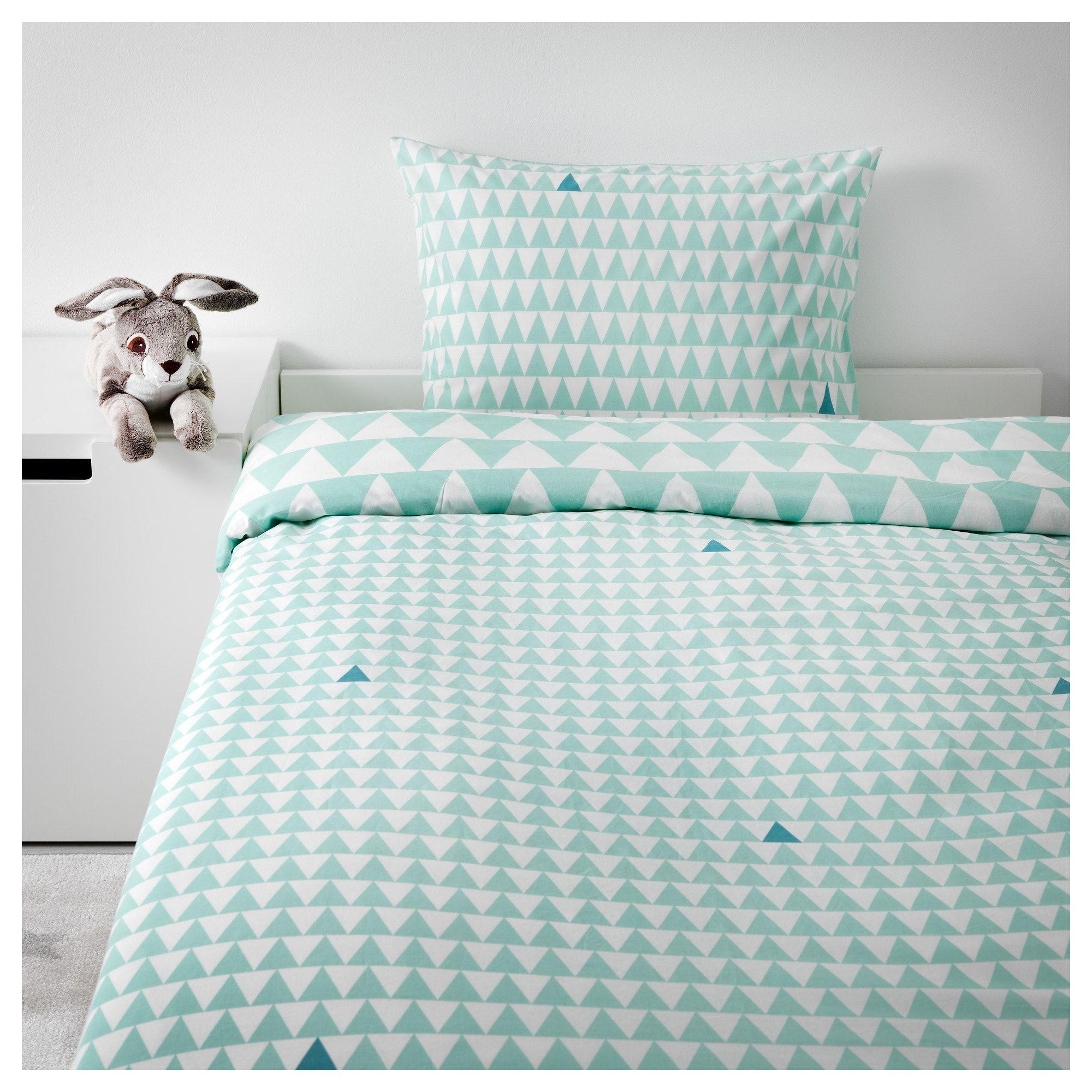 STILLSAMT Duvet cover and pillowcase(s), light turquoise | Pinterest