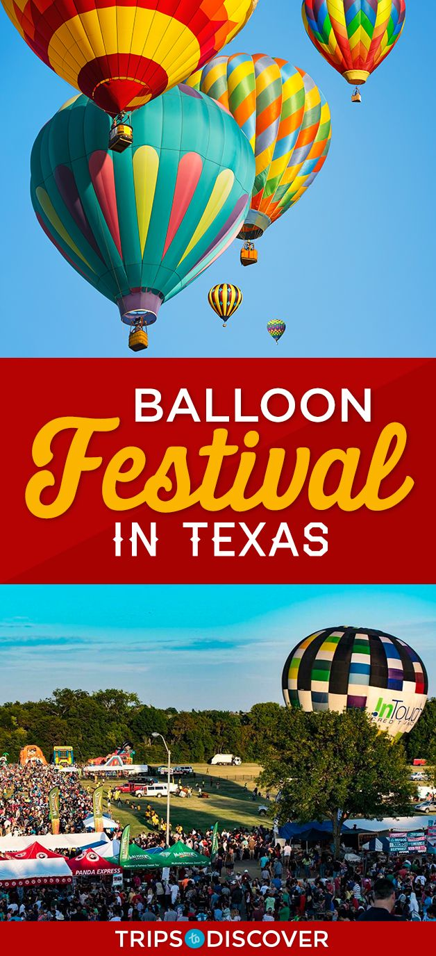The Skyline Comes to Life at This Texas Balloon Festival