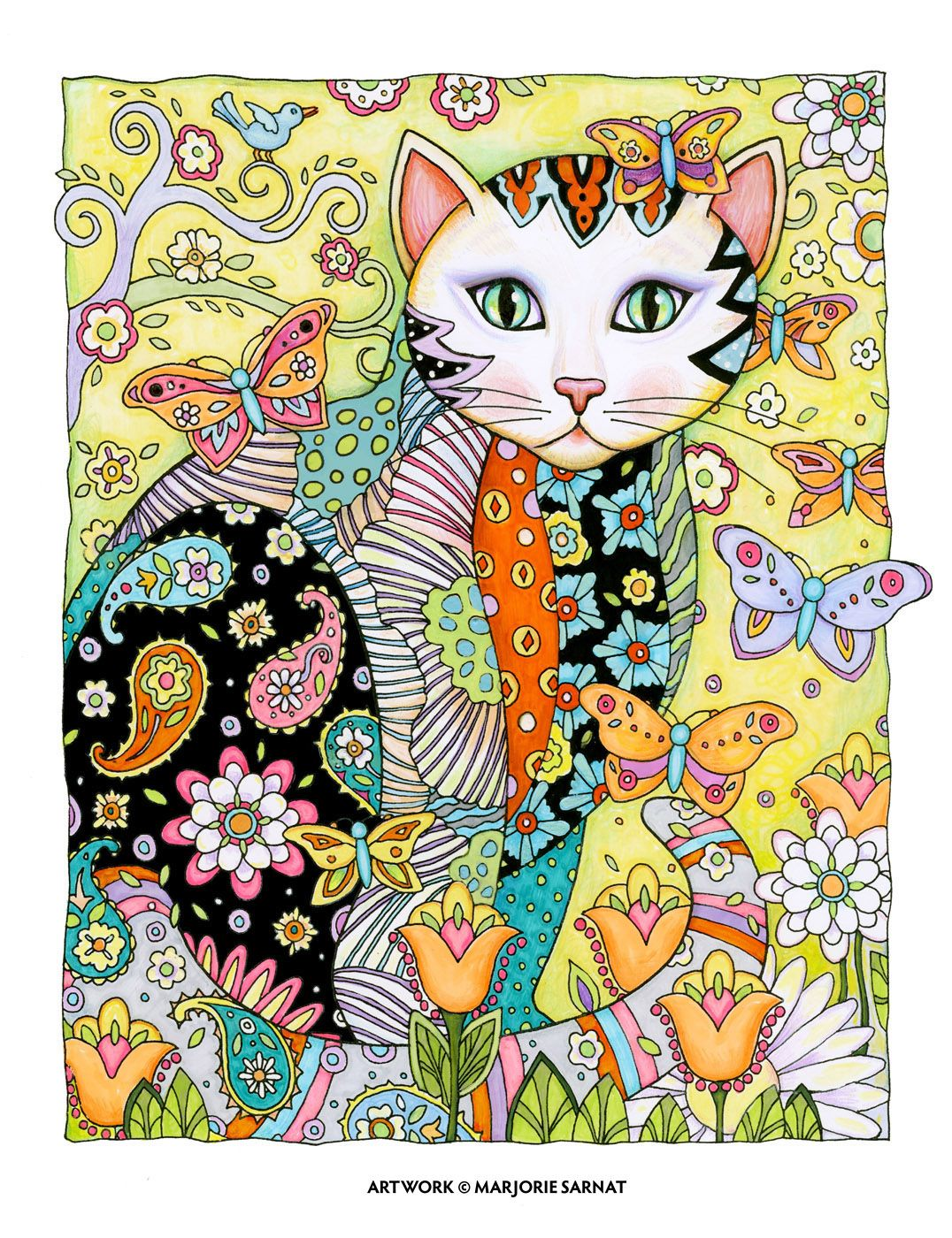 Creative Cats Coloriage Coloriage Anti Stress Drawing