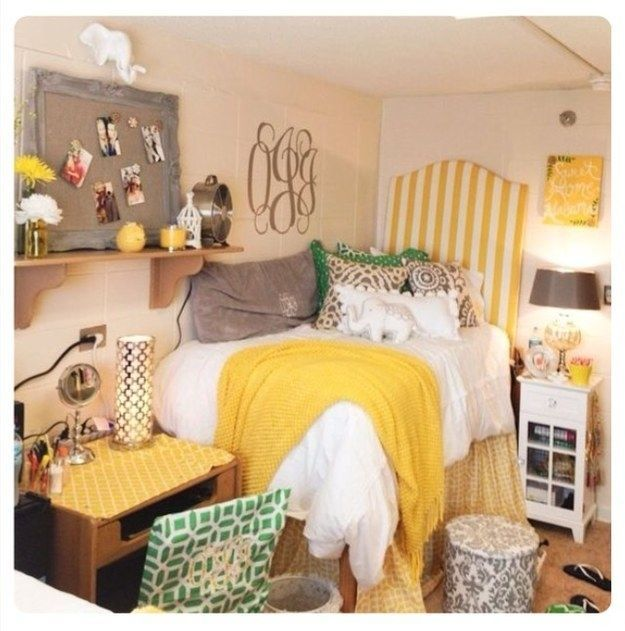 14 Amazingly Decorated Dorm Rooms That Just Might Blow Your Mind is part of Dorm decor Posters - And you thought your Bob Marley poster was soooooo cool