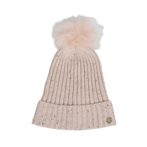 997e93ffd2e YVES SALOMON knit hat and fox pompon.  yvessalomon