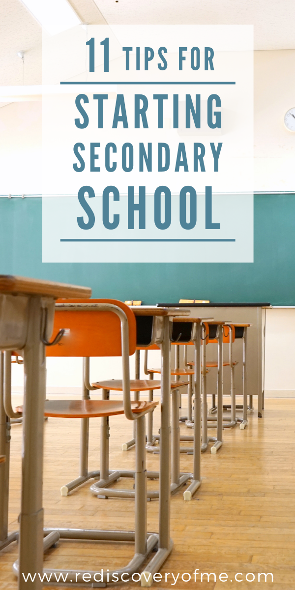 Starting Secondary School: Everything You Need to Know - The Rediscovery Of Me