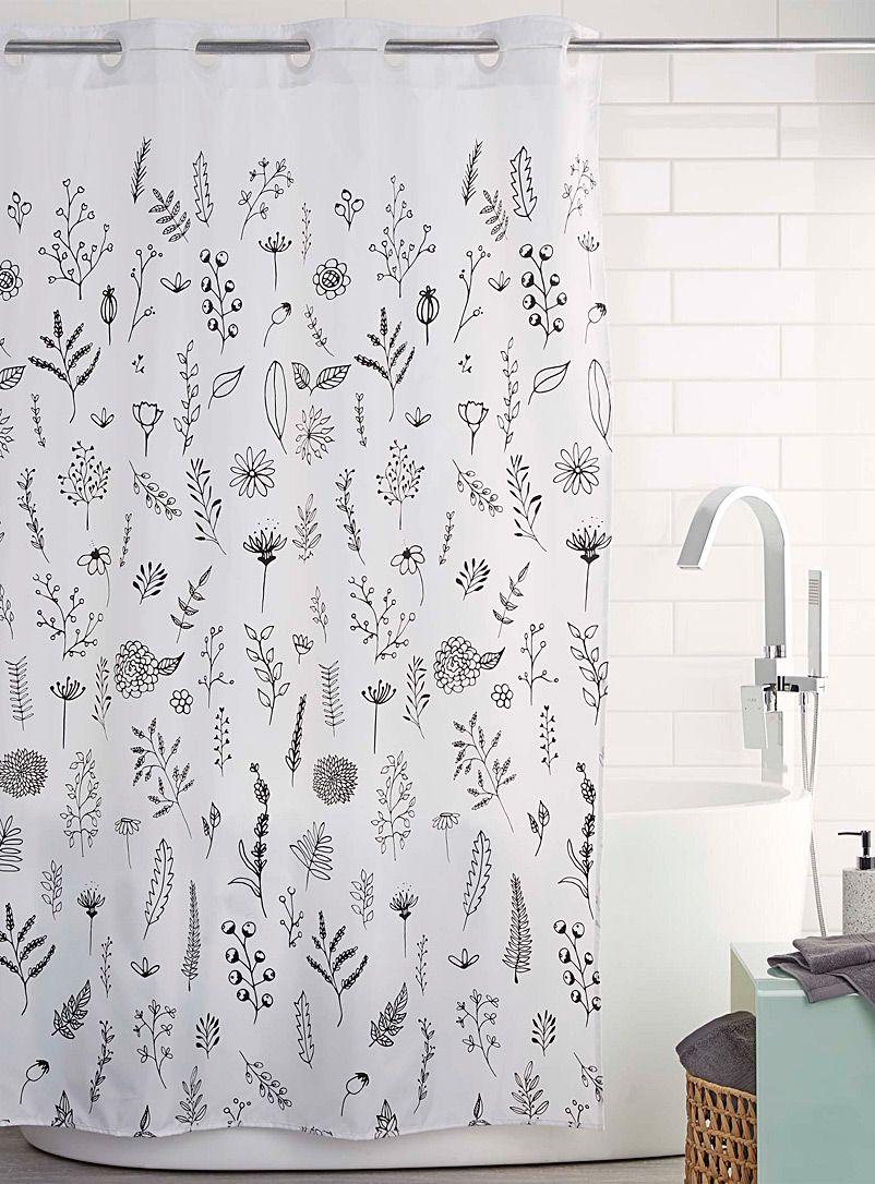 Wildflowers Shower Curtain Simons Maison Shop Fabric Shower