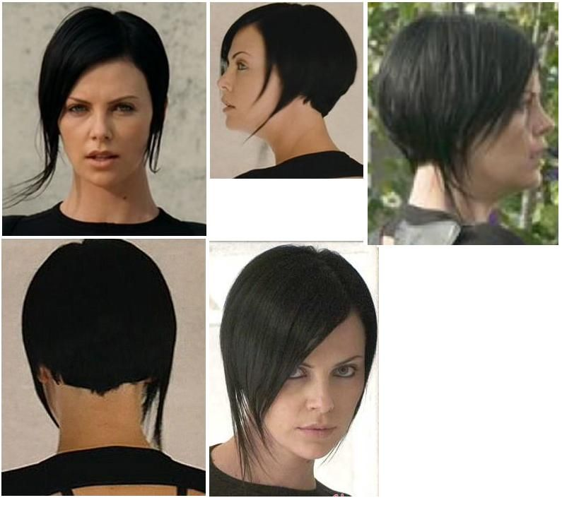 Aeon Flux Style Hair Cuts Pinterest Aeon Flux Haircuts And