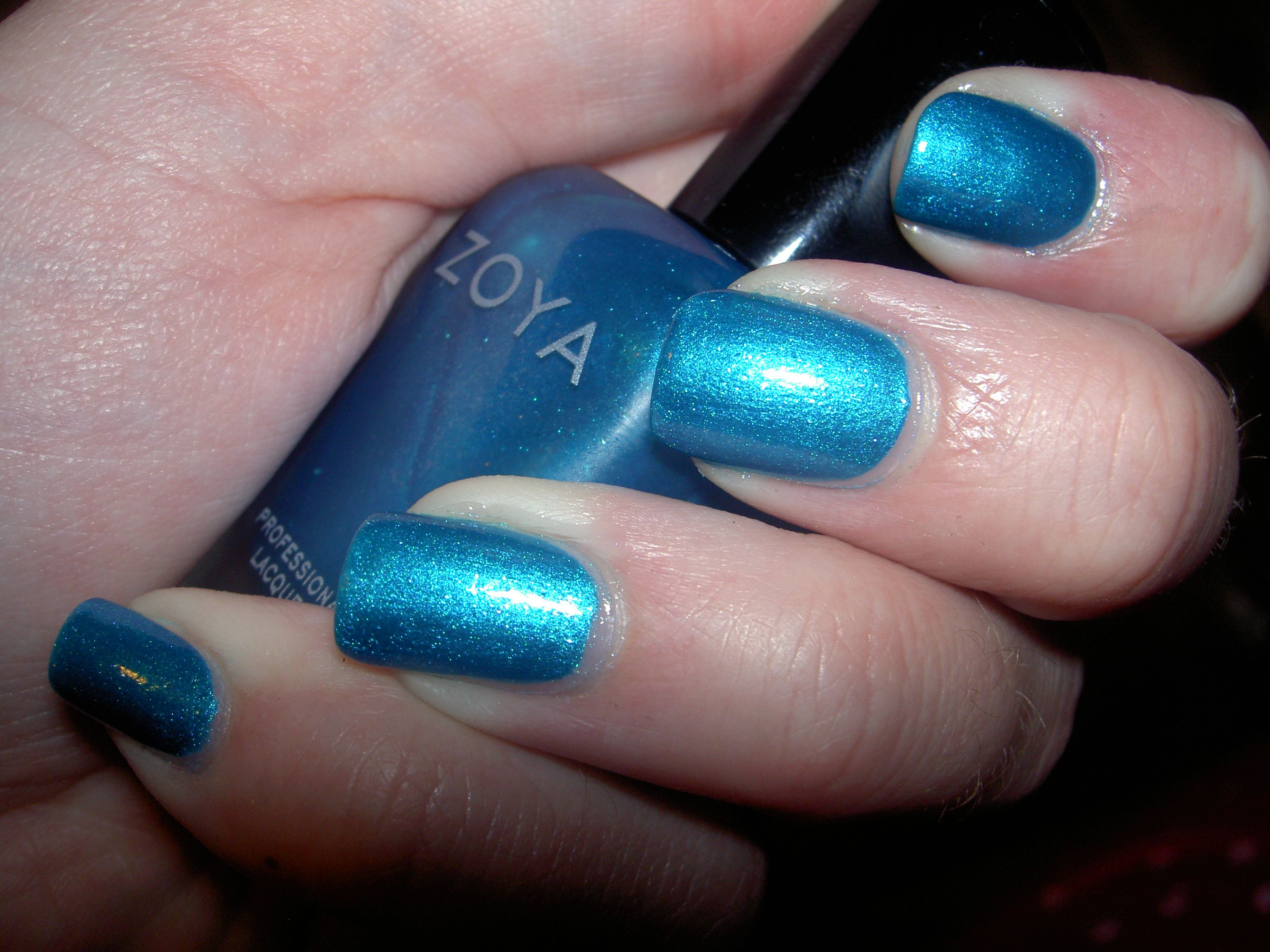 "Zoya ""Oceane"" from the summer 2015 Paradise Sun collection."