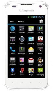 Cara Flash Smartfren Andromax I AD683G Tanpa PC