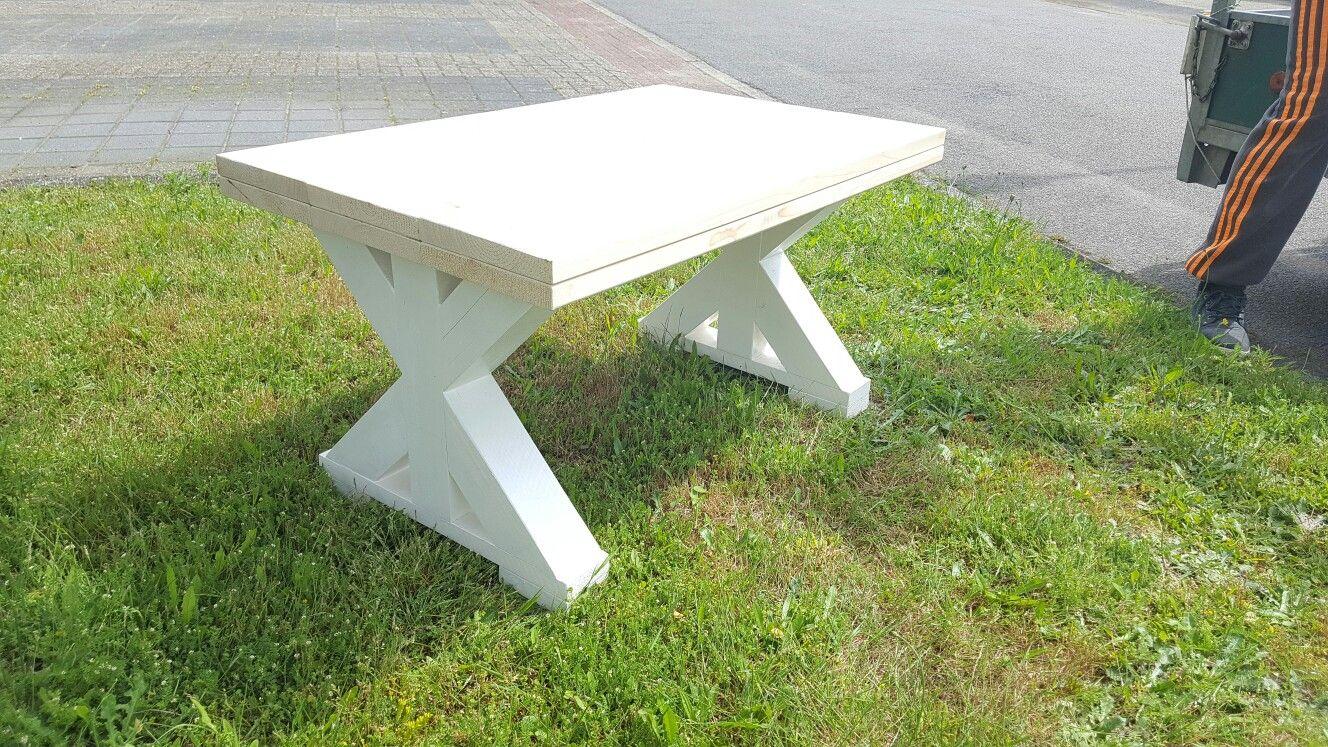 Mooie stoere tafel