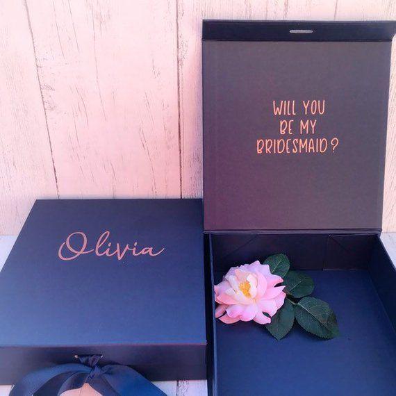 Will You Be My Bridesmaid Box, Custom Bridesmaid Proposal